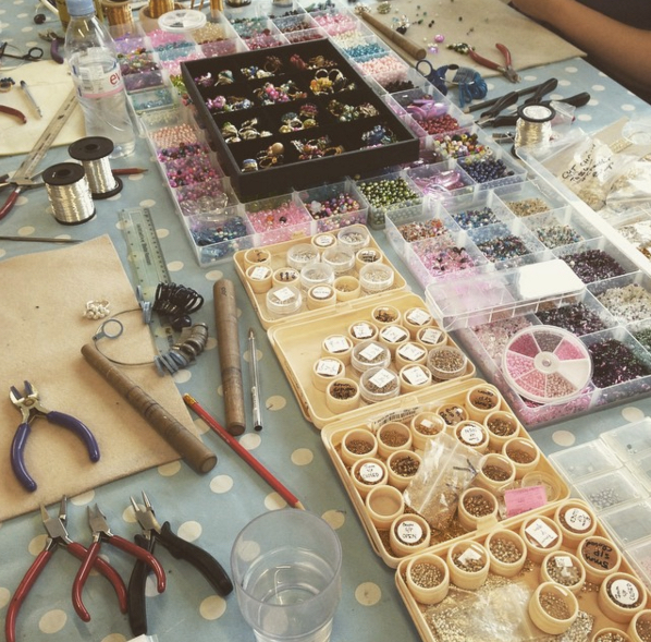 Beaded Jewellery Making