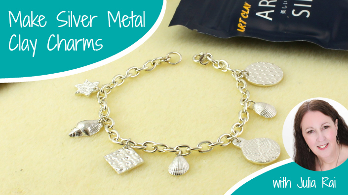 Make Silver Metal Clay Charms
