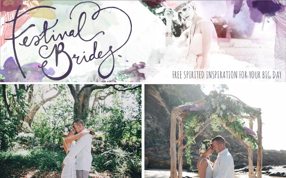 Festival Brides:Poppy & Chris' Byron Bay Elopement