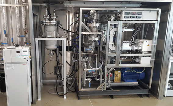The worlds first hydrothermal microwave pilot plant for processing bio-slurries…