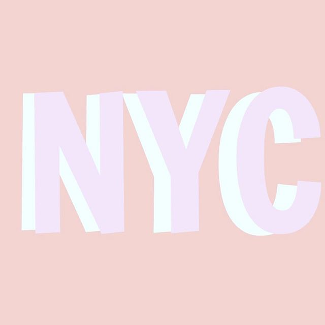We're on the way to NYC! ✈️ The brick + Mortar will be closed. Online orders will ship next week! See ya next week!