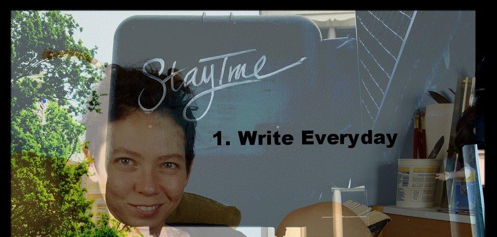Staytrue.WriteEveryday.