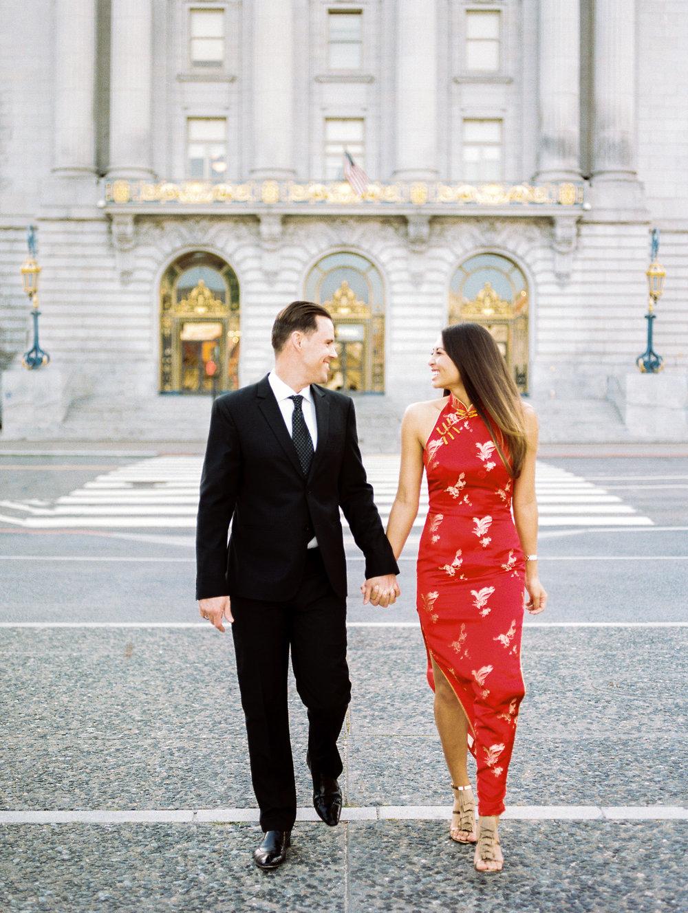 Dan & Sari at SF City Hall