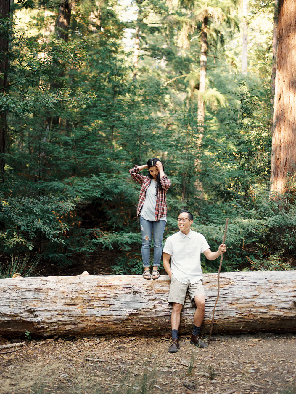 caroline & zubin at big basin -  Coming Soon