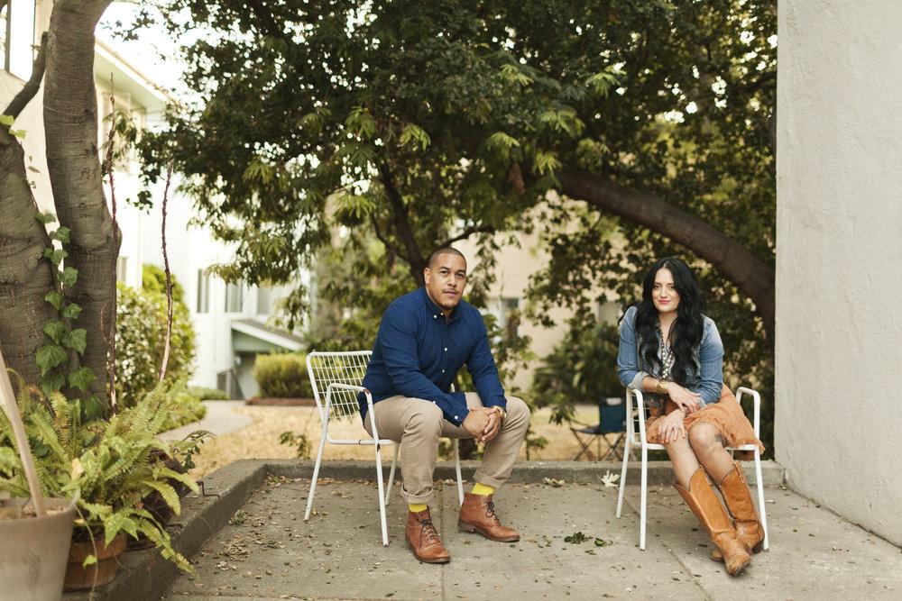 Marisa & Roger IN OAKLAND