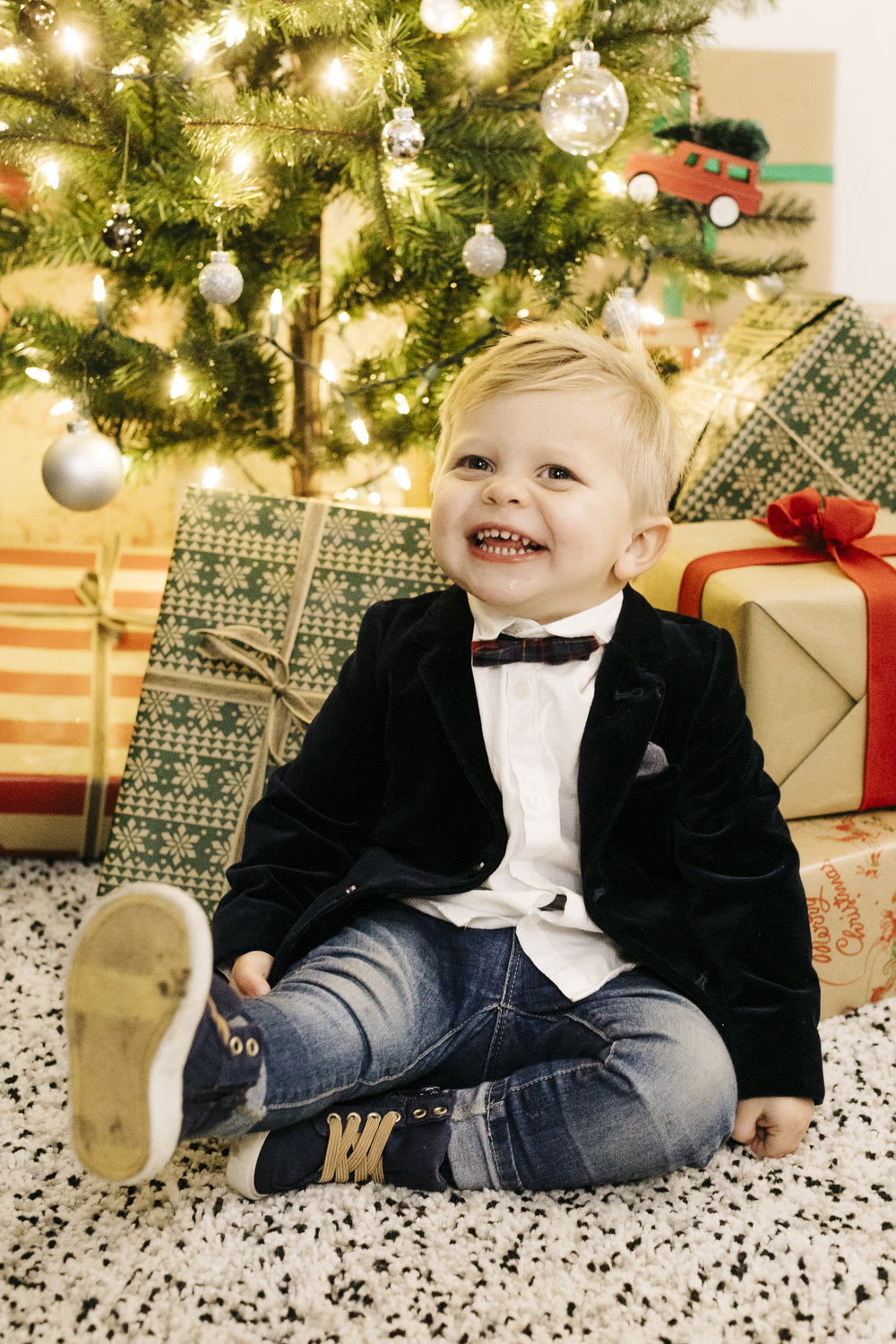 Christmas Toddler Picture