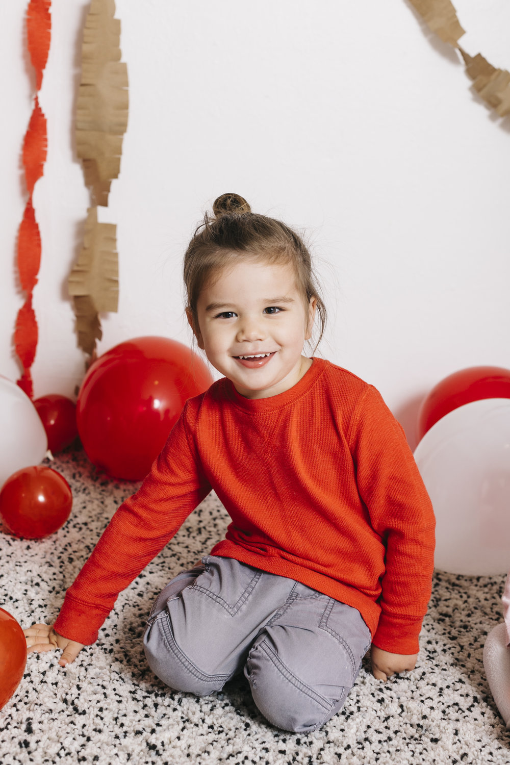 Valentine's Day Toddler Picture