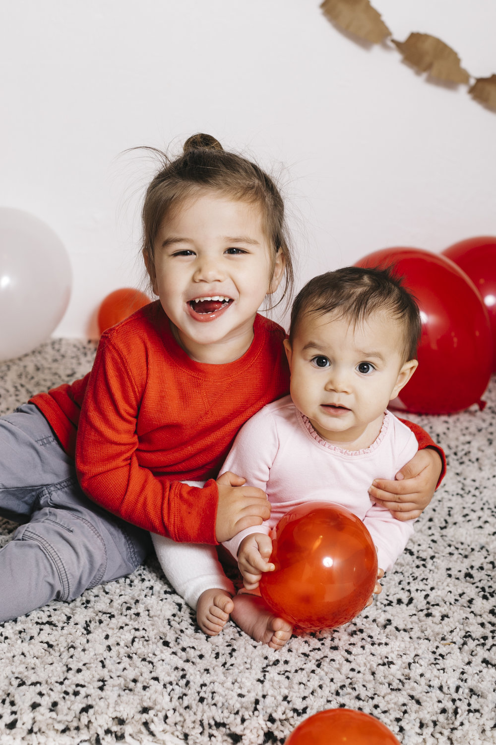 Valentine's Day Toddler & Baby Picture