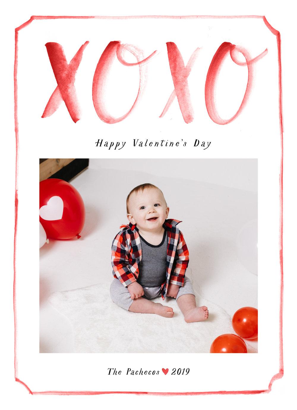 Baby Valentine's Day Card