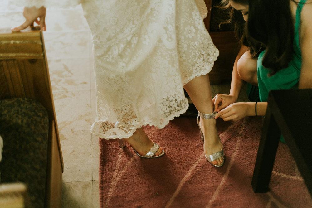 Santa Cruz Boho Camp Wedding