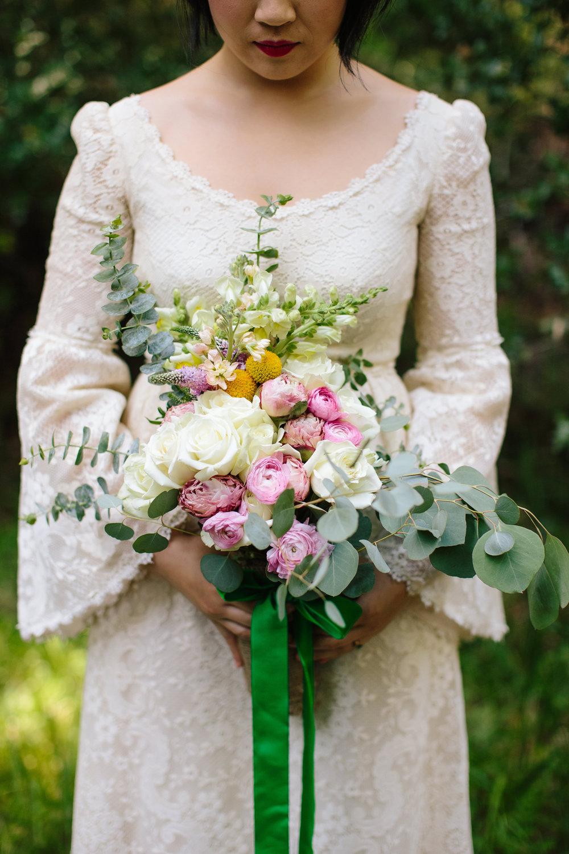 DIY Wedding Bouquet in Santa Cruz