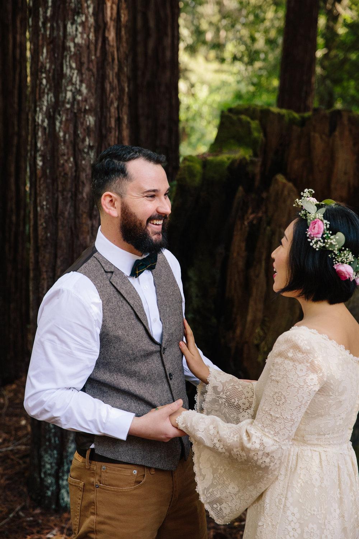 Santa Cruz Camp Wedding