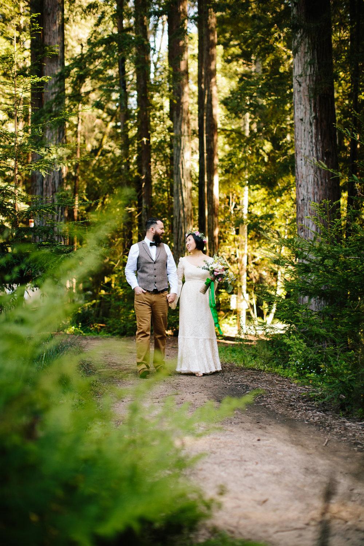 Camp Campbell Wedding Santa Cruz