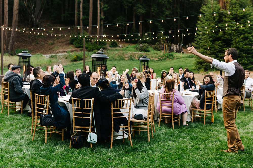 Camp Campbell YMCA Wedding Hello!