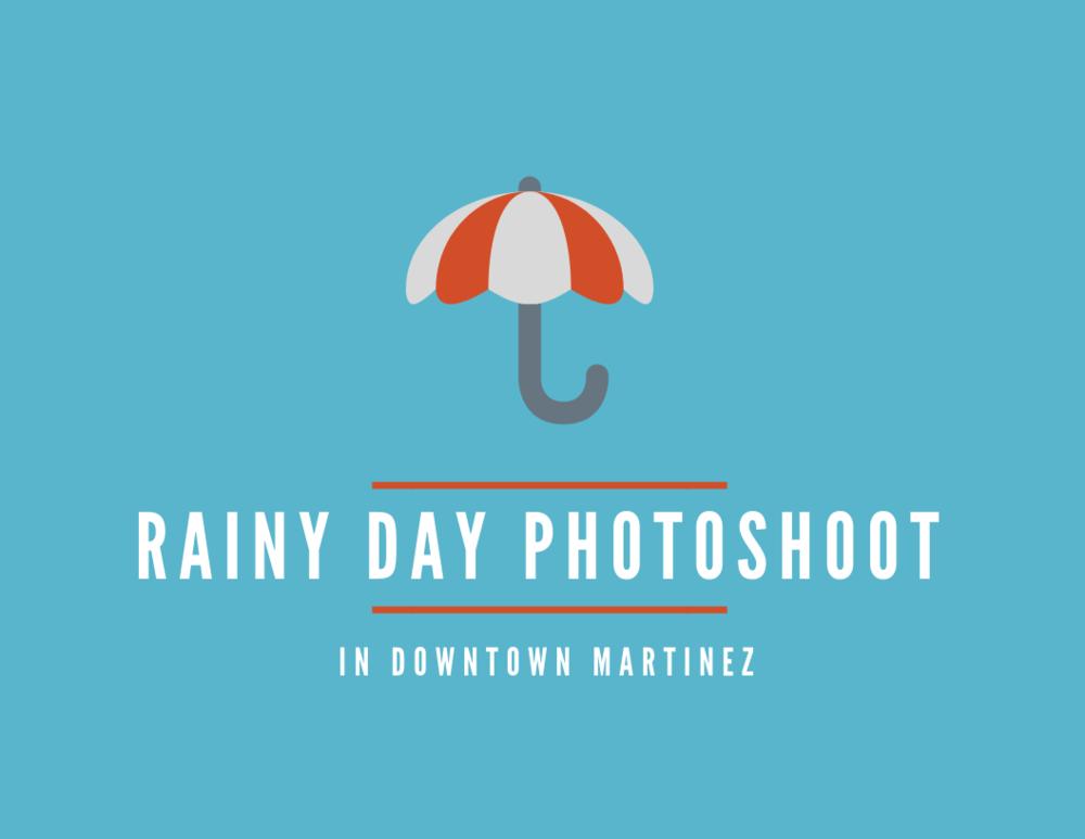Downtown Martinez Rainy Day Portraits