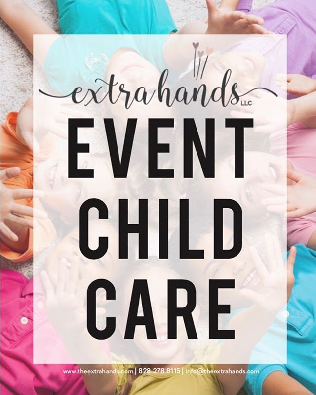 Brides! We offer event childcare and would love to watch after the little ones while you dance the night away. Now booking 2018 weddings! 💍