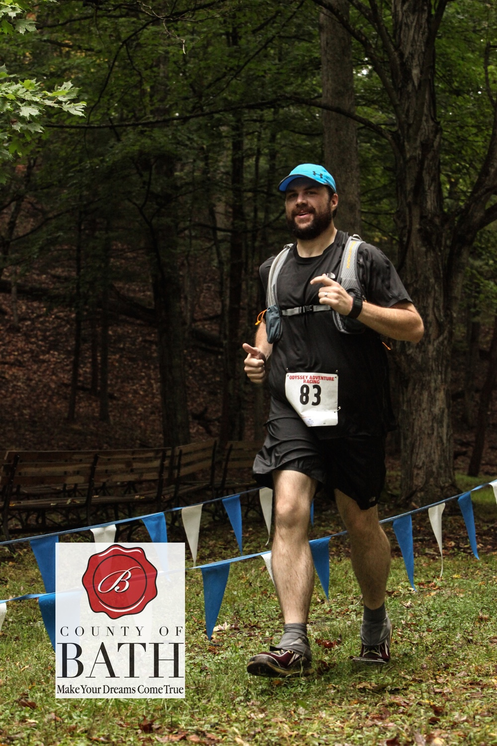 My first trail race at the Odyssey Running Rampage in 2015.