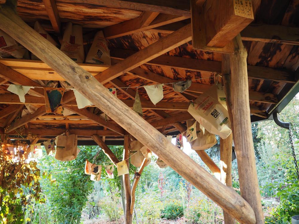 Ceiling Detail of Gazebo