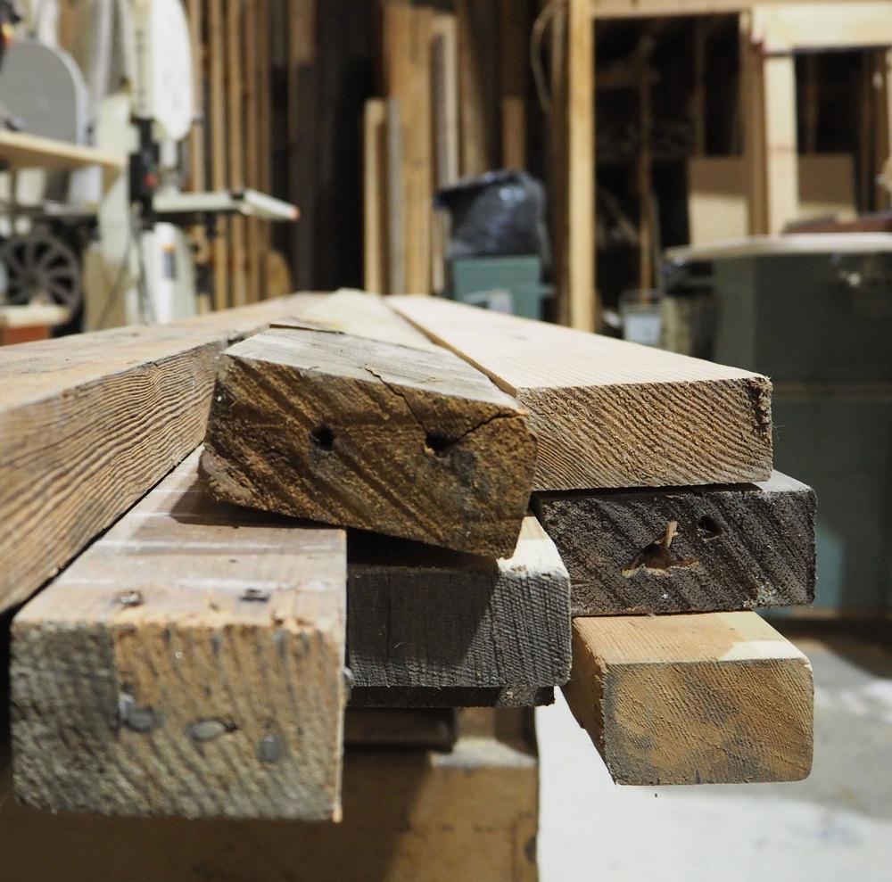 lumber-reclaimed
