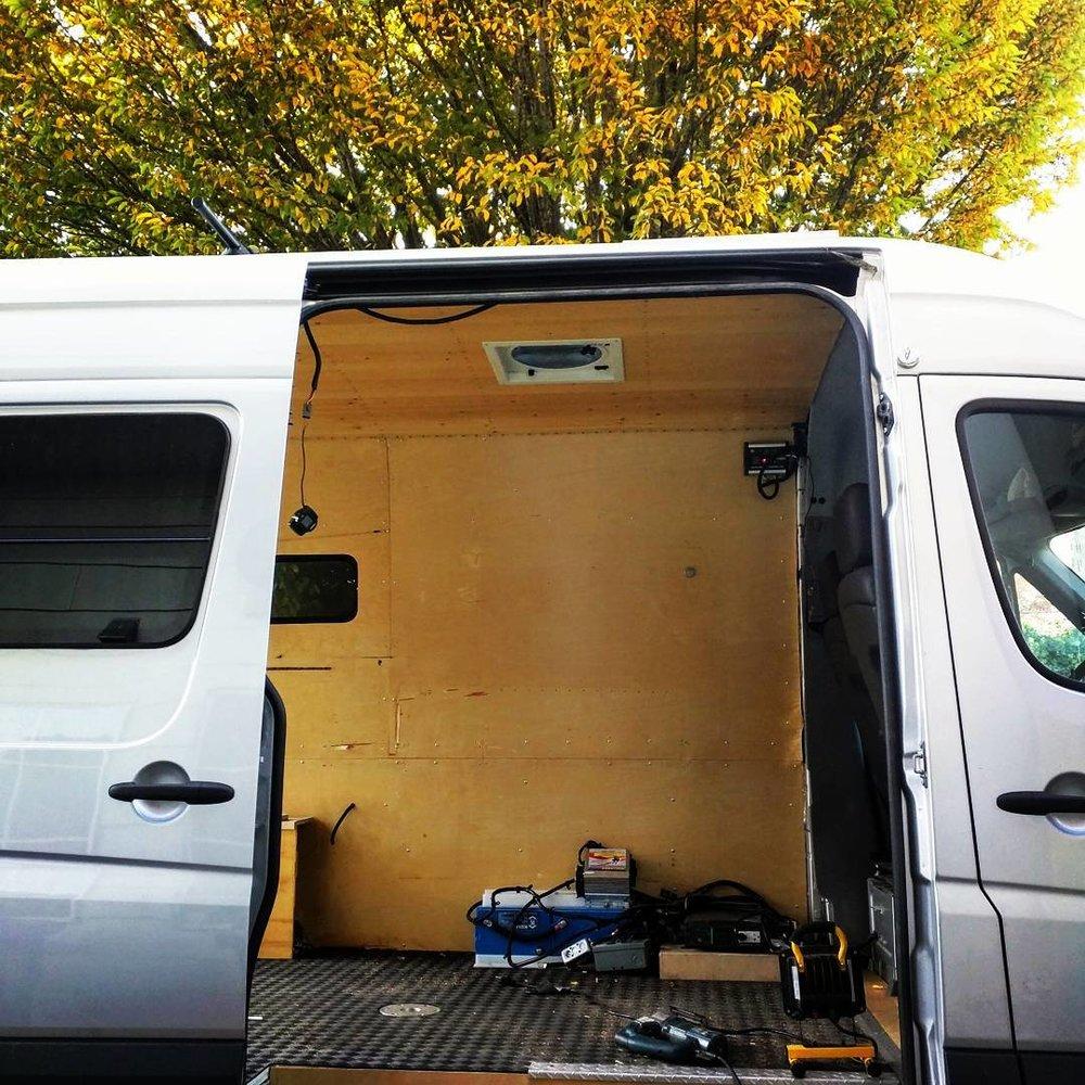 Mercedes Sprinter Van - Before