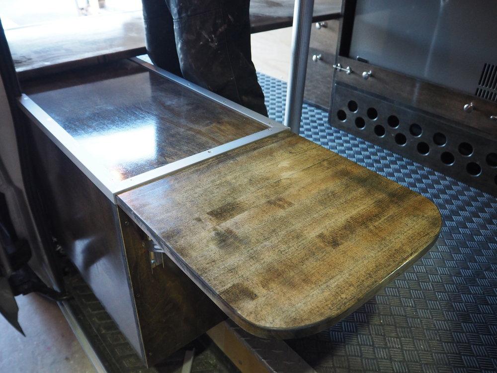 Bench Seat / Van Cabinet Combo