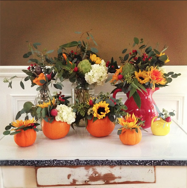 Vegetal & Floral Arrangements // Autumn