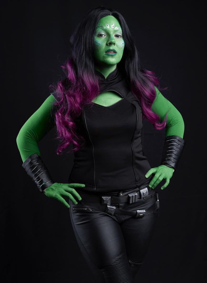 Gamora- Guardians of the Galaxy I DID make the belt and bracers everything else was purchased