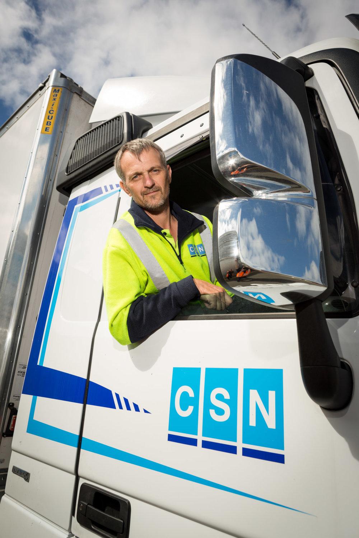 CSN truck driver