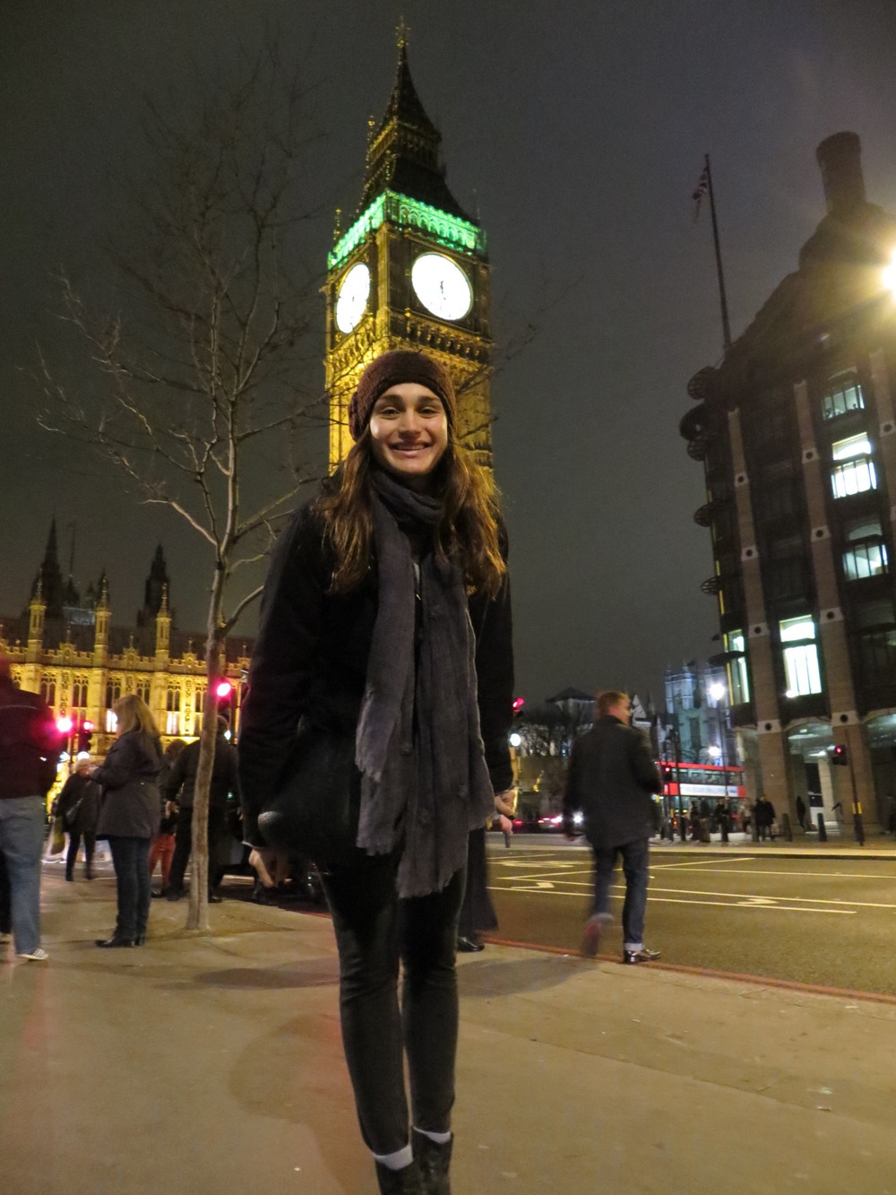 Obligatory picture with Big Ben, magnificent at night
