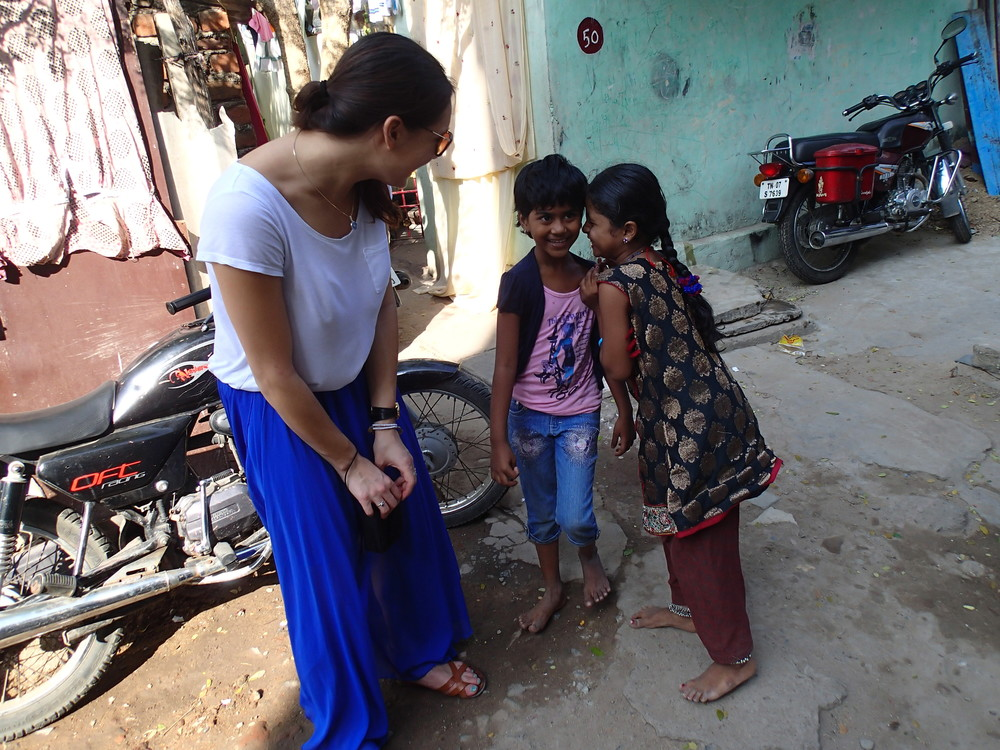 Making friends in Chennai!