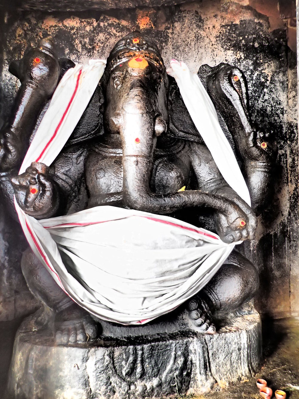 Ganesh, a Hindi god
