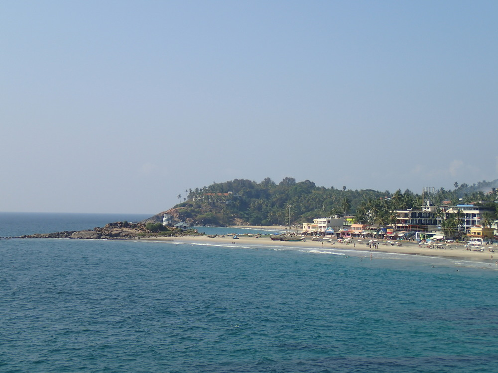Kovalam itself, in all its glory!