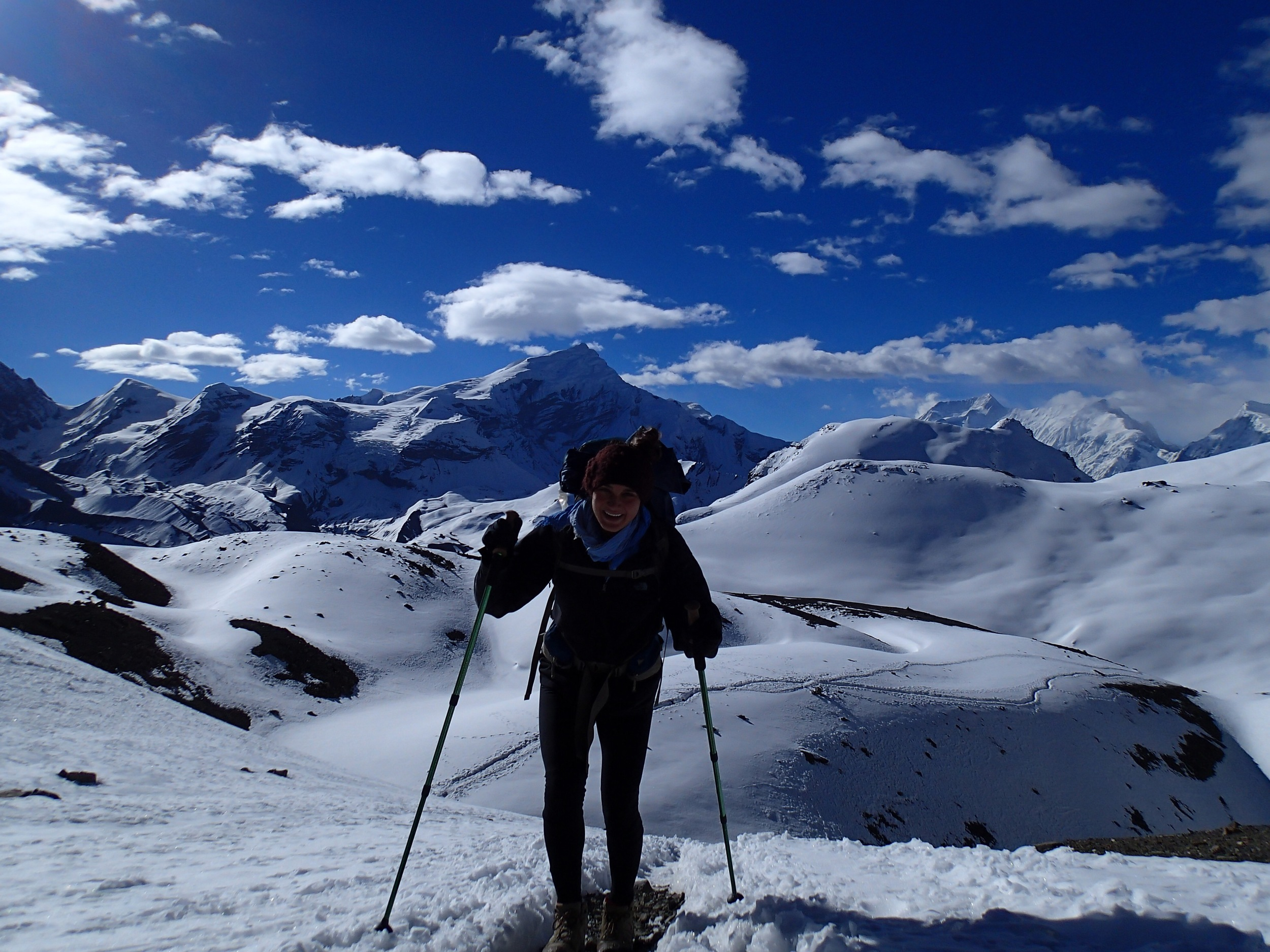 On top of it all: the Annapurna trek through the highest mountain pass in the world. Summer 2013.