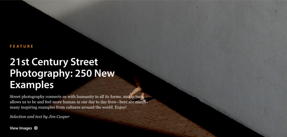 """2015 : LensCulture - """"21st Century Street Photography 250 New Examples"""""""