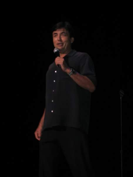 Opening for George Lopez.