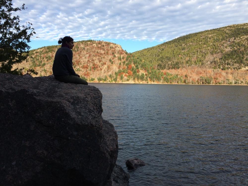 Jordan Pond - Acadia National Park. November 2015. (Photo by Laura D.)