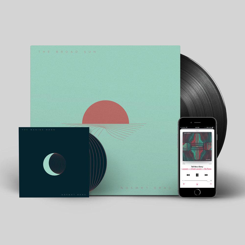 MUSIC - CD // VINYL // DOWNLOADS