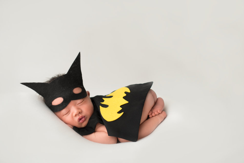 monterey-park-newborn-photography-batman-baby-boy-dc-comics
