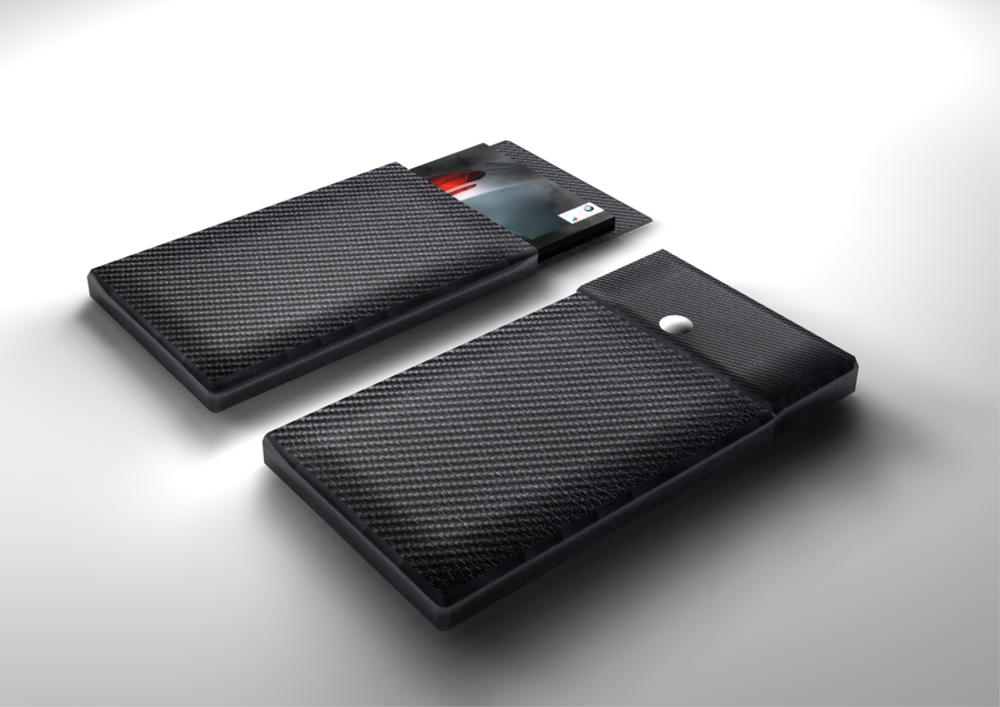 CARBON FIBER iPHONE HOLDER