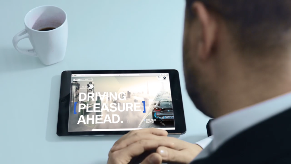 DRIVING PLEASURE AHEAD DIGITAL HUB - In this conceptual work we wanted to take communication to the next level, tailored to individual interests and needs, in the future we don't want to only talk to our target group, we want to initiate ongoing conversations with our target individuals