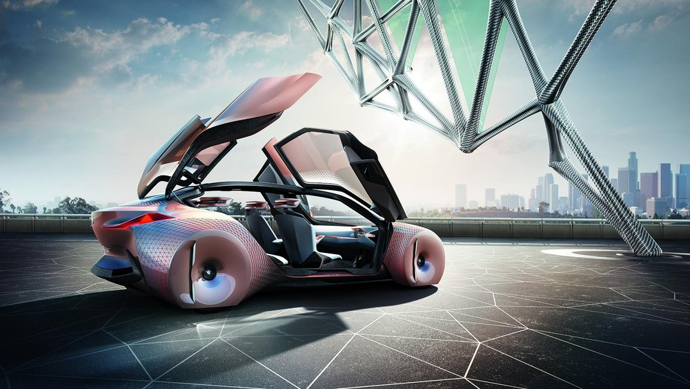 Driving pleasure ahead communication platform - How would the future look like, we can't describe it, We can only imagine it, for the next 100 years anniversary, BMW wanted to show how the future looks like in their eyes.