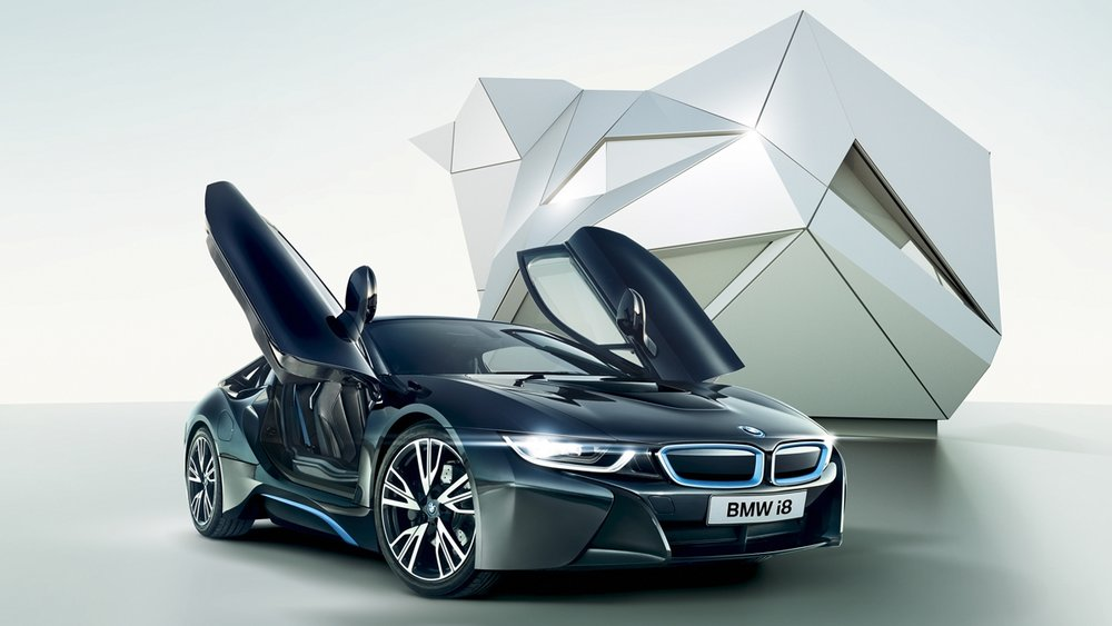 Ahead of time - The first ever BMW i8 Master Visual Design.
