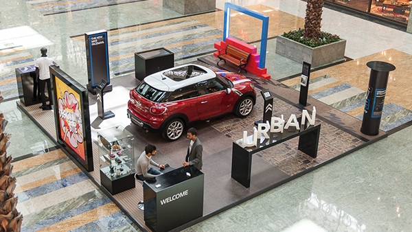 Urban Style - How to communicate the new MINI Paceman, urban attitude, innovation to the creative class, the MINI Paceman experiential activation, concept and rollout.