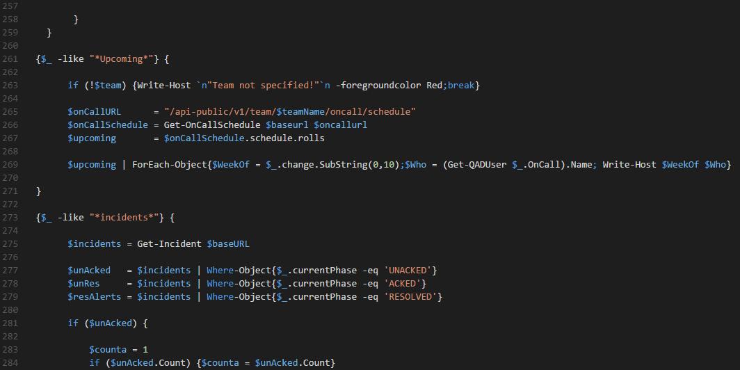PowerShell: Using the VictorOps REST API and PRTG Sensor