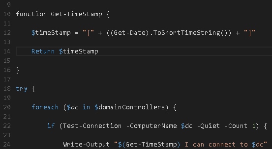 PowerShell Quick Tip: Simple logging with time stamps — The