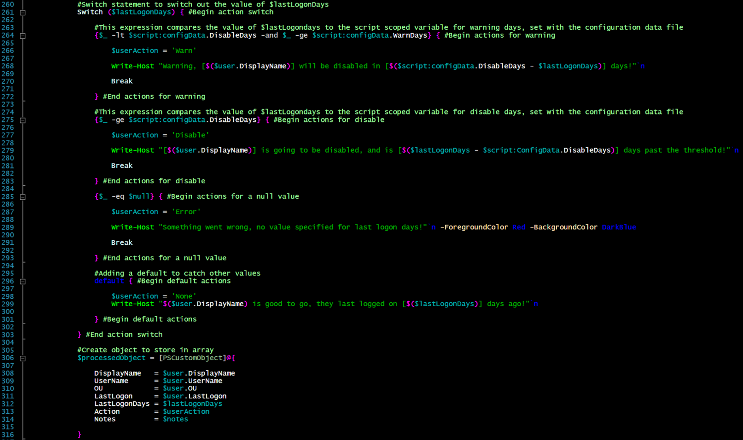 Powershell Configure Your Scripts With A Gui The Ginger Ninja