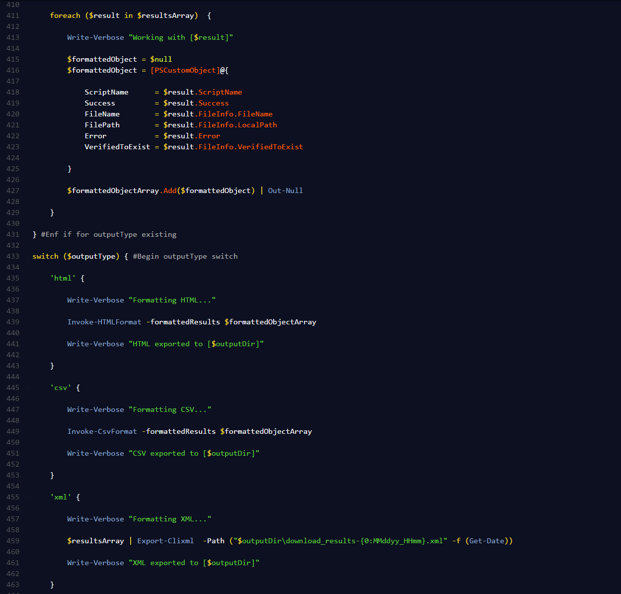 powershell download