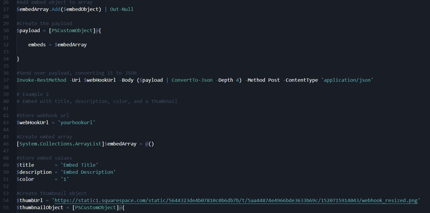 Using Discord Webhooks and Embeds With PowerShell (Part 2) — The