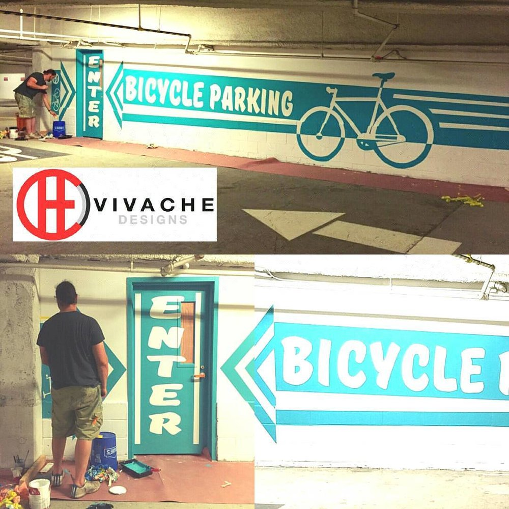 Vivache Designs Bike Wall Mural.jpg