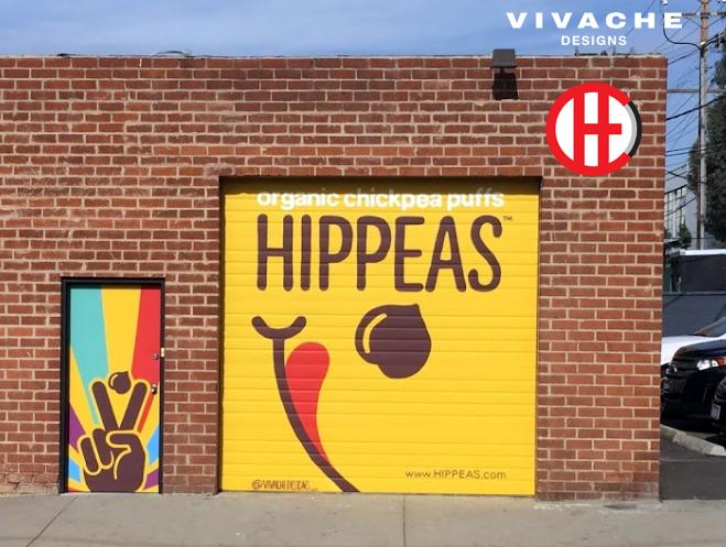 Vivache Designs Hippeas Custom Branded Mural.jpg